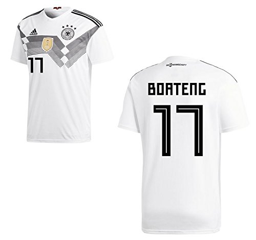 Trikot Herren DFB 2018 Home WC - Boateng 17 (M)