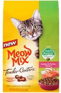Meow Mix Tender Centers with Vitality Burst – 3lb