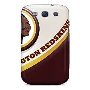Top Quality Case Cover For Galaxy S3 Case With Nice Washington Redskins Appearance