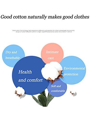 Jovono Fashion Mens Round Neck T-Shirt Printing Casual Short Sleeve Tee Cotton Black Short Tops (XXXX-Large) by Jovono (Image #6)