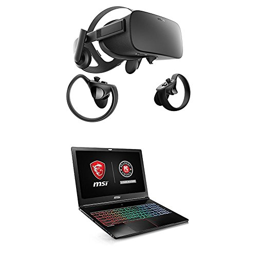 Oculus Rift   Touch Virtual Reality System And Msi Gs63vr Stealth Pro 002 15 6  120Hz 3Ms Display Ultra Thin And Light Gaming Laptop I7 7700Hq Gtx 1070 8G 32Gb 512Gb Ssd   1Tb Bundle