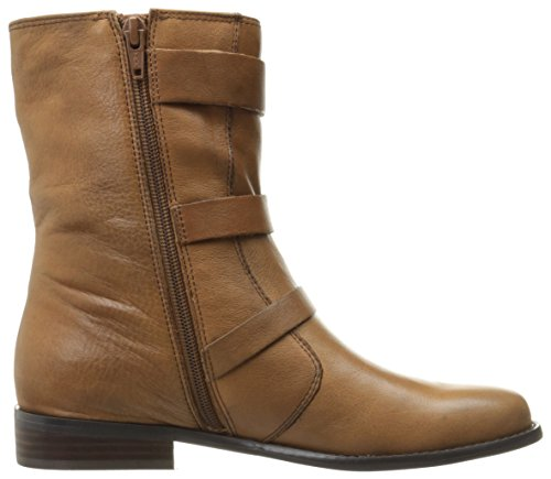 Tobacco Women's Como Boot Motorcycle Kandace Leather Tumbled Corso 8UqwZq