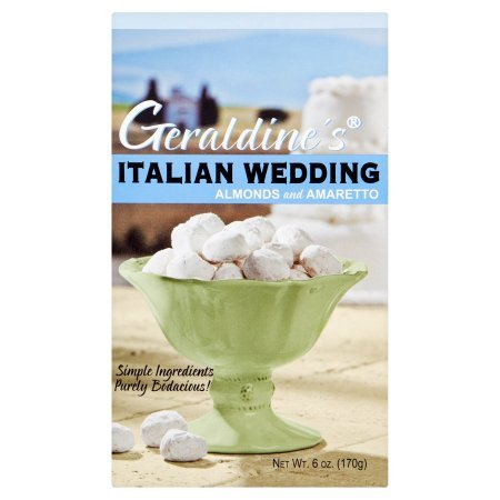 Geraldine's Italian Wedding Cookies, 6 oz (Pack of 6) by Geraldine's