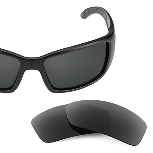 Costa — múltiples repuesto Negro Opciones Polarizados Sigiloso Blackfin para de Elite Lentes Revant wqYZ44