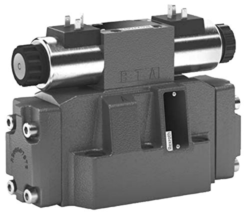 Bosch Hydraulic Valve (Bosch Rexroth AG R900922084 4WEH16E72/6EG24N9ETK4 Hydraulic Directional Spool Valve, Pilot Operated With Solenoid Actuation)