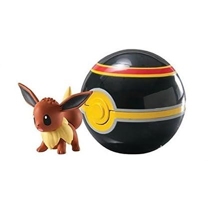 Pokemon - Pokeball para viajes T18870 / T18532 Pokemonfigur Evoli ...