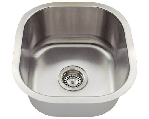 Polaris Sinks P6171-16 Stainless Steel Bar Sink by Polaris Sinks by Polaris Sinks