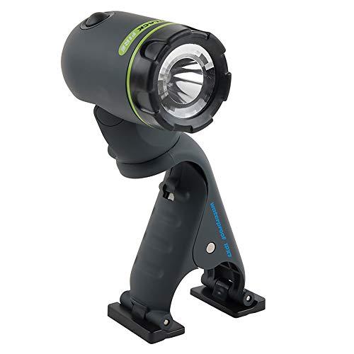 Flashlight Clamp Light LED, 360° Waterproof & Floating, 210 Lumen, Outdoors, Hunting, Hiking Blackfire ()