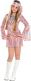 Disco Diva Teen Girls 1970s Fancy Dress 70s Childrens Costume Hippy Kids Outfit (10-  sc 1 st  Amazon UK & Girls Retro Go Go Girl Fancy Dress Up Party Costume Halloween Child ...