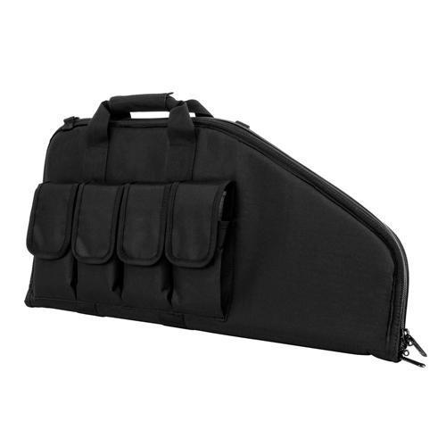 NcStar CVCP2961B-28 Pistol Subgun Gun Case, Black