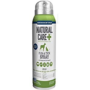 Natural Care Flea and Tick Spray for Dogs and Cats | Flea Treatment for Dogs and Cats | Flea Killer with Certified Natural Oils | 14 Ounces 13