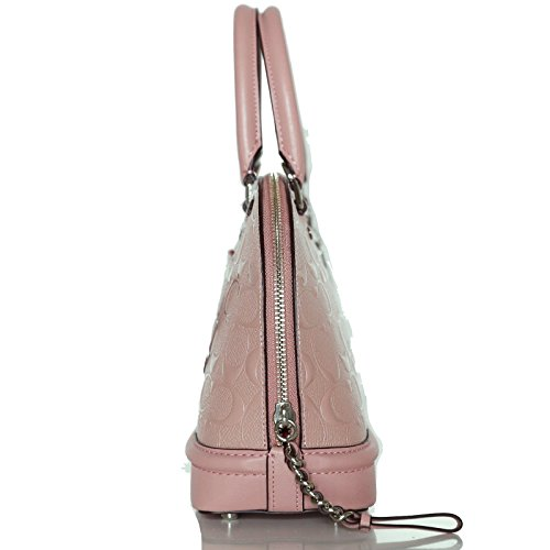 Women��s Shoulder Mini Satchel Coach Shoulder Inclined Light Purse Pink Handbag Sierra U165qxwndq