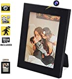 16GB Hidden Nanny Camera Picture Frame Motion Activated Video Recorder with Photo Taking Function, Support 64GB Memory…