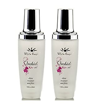 White Sands Orchids Oil Shine Moisture 3.38oz 18 Larger with Pump Set of 2