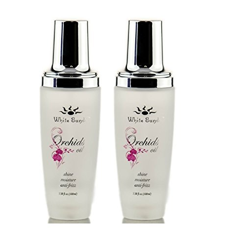 White Sands Orchids Oil Shine & Moisture(3.38oz) 18% Larger with Pump! (Set of -