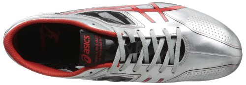 ASICS Men's Sonicsprint Track Shoe,Silver/Fire Red/Black,8 M US by ASICS (Image #7)
