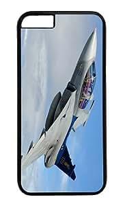 JAS 39 Gripen multi purpose fighter PC Black Hard Case for Apple iPhone 6(4.7 inch)