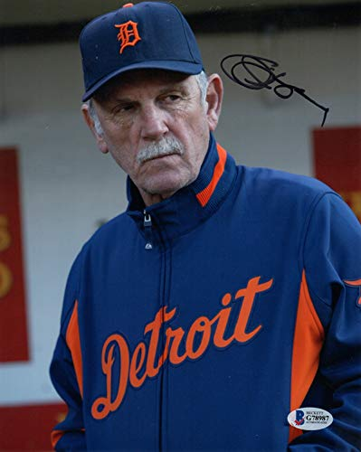 JIM LEYLAND SIGNED AUTOGRAPHED 8x10 PHOTO DETROIT TIGERS MANAGER BECKETT BAS ()