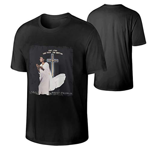 Man Aretha Franklin One Lord, One Faith, One Baptism Breathable Outdoor T-Shirt M Black