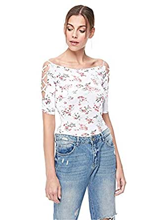 Bershka Cami & Strappy Tops For Women, WHITE M