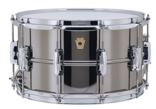 Beauty Ludwig Snare Black - Ludwig Black Beauty Snare Drum - 8