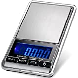 TBBSC Smart Weigh Scale High Precision Digital Jewelry Pocket Scale 300g/0.01g Reloading,Kl-16