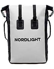 Nordlight Drybag 30 l rulle topp – med vadderad bärrem, Dry Bag ryggsäck för vattensport, cykelryggsäck, kurirryggsäck, trekking, fiske