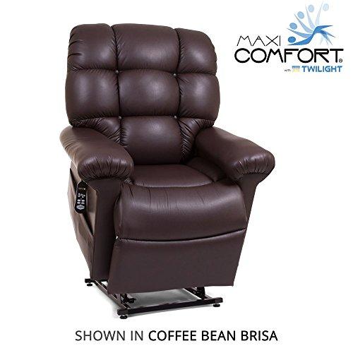 (Golden Technologies Cloud PR-514 Lift Chair with Twilight MaxiComfort Lift (Coffee Bean))
