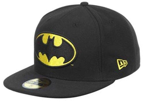 New Era Cap Marvel Batman Basic Logo Fitted 6 7/8-8(7 1/4)