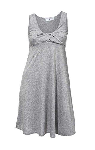 RICK CARDONA - Vestido - Opaco - para mujer gris
