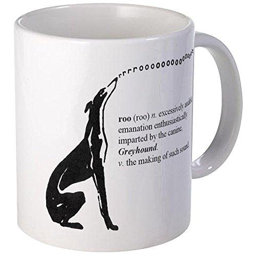 CafePress - Greyhound Mug/Roo - Unique Coffee Mug, Coffee Cup