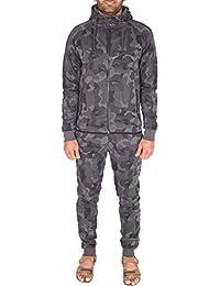 Noroze Men's Camouflage Tracksuit Military 2 Piece Set