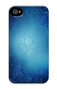 abstract bubbles PC Case for iphone 4S/4 hjbrhga1544