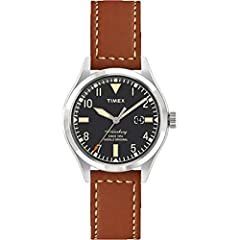 Timex Waterbury Red Wing Shoe Leather: TW2P84000