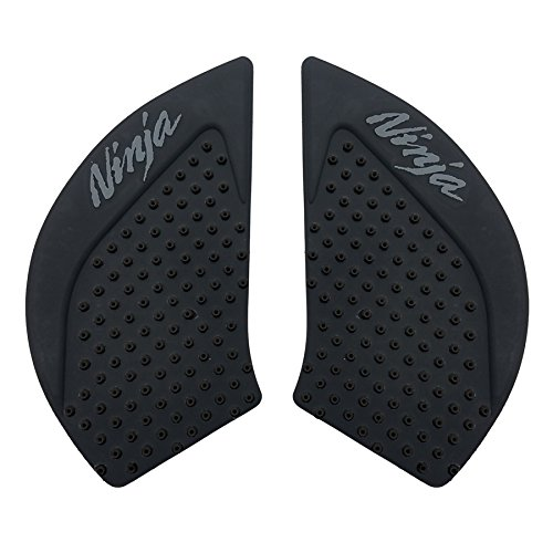 - Black 3D Dots Gas Fuel Tank Traction Pad Anti Side Slip Protector For Kawasaki Ninja 650 2013-2016