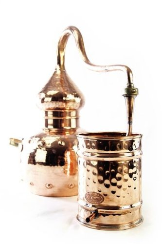 CopperGarden®' alembic still 5L, riveted