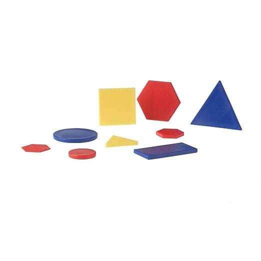 Amazon.com: Eta hand2mind, 60 piezas Jumbo atributo bloques ...