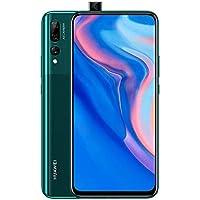 "HUAWE Y9 Prime 2019 Smartphone, 6.59"" Ultra FullView Display, 4 GB + 128 GB, Auto Pop-up Selfie Camera, Triple AI Rear Camera, 4000 mAh, Green"