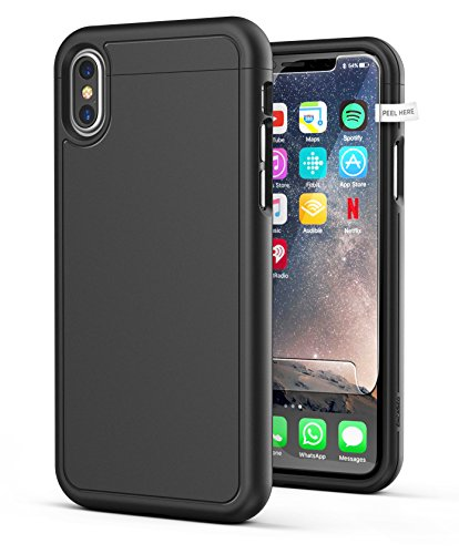 iPhone-X-Slim-Case-w-Screen-Protector-Encased-SlimShield-Series-Protective-Grip-Case-for-Apple-iPhoneX-2017-Release