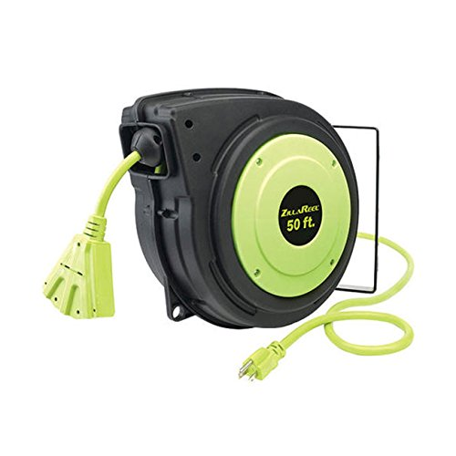 Legacy 120VAC Commercial Retractable Cord Reel; Number of Outlets: 3, Cord Included: Yes E8140503 - 1 Each