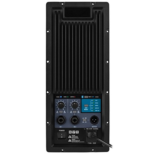 Dayton Audio PMA800DSP 2-Way Plate Amplifier 800W 2-Channel with DSP and Bluetooth - 1,500 Hz - 2 Dayton
