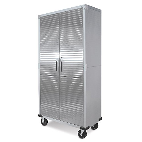 - UltraHD Tall Storage Cabinet - Stainless Steel