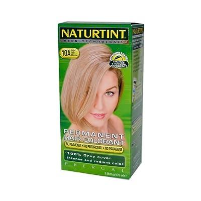 Naturtint Permanent Hair Color 10A Light Ash Blonde -- 5.28 fl oz