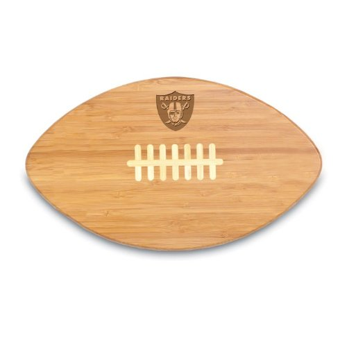 - NFL Oakland Raiders Touchdown Pro! Bamboo Cutting Board, 16-Inch