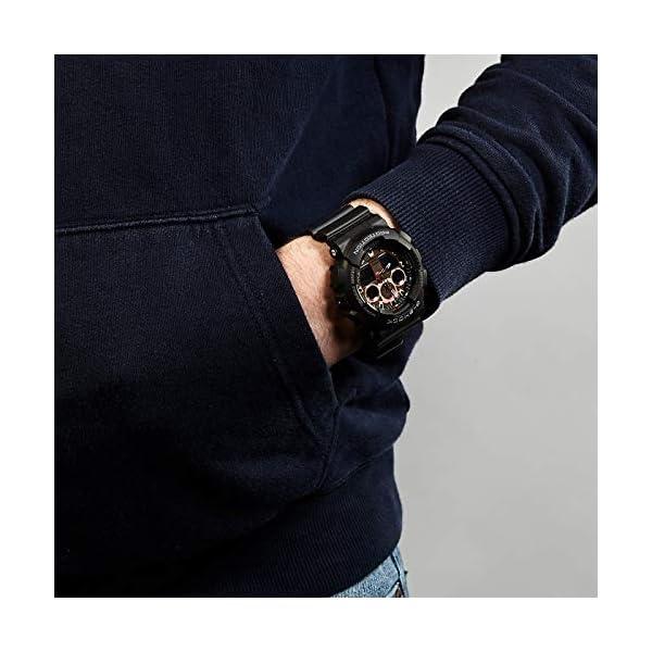 Casio Reloj Analógico-Digital para Hombre de Cuarzo con Correa en Resina GA-100MMC-1AER 6
