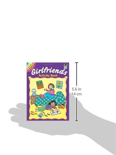 Girlfriends Activity Book (Dover Little Activity Books)