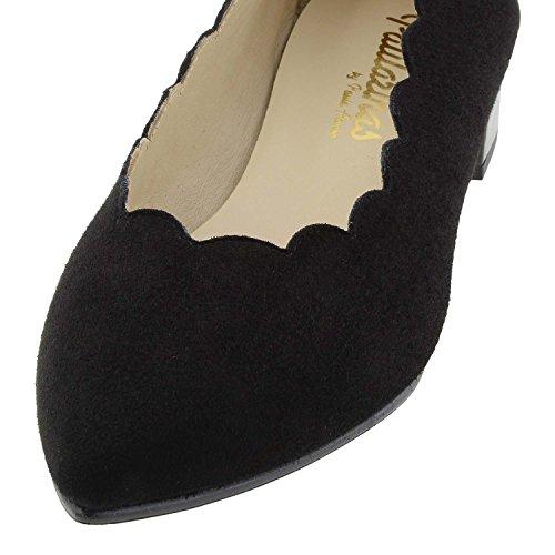 Charol Negro Piel Ante Zapatos y YqxRCAYHw