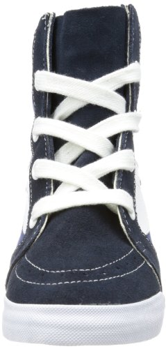 Vans U SK8-HI WEDGE NAVY/TRUE WHITE - Zapatillas de lona unisex azul - Blau (navy/true white)