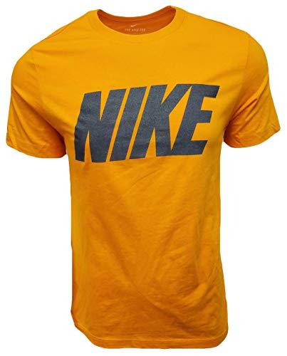 Nike Men's Italic Graphic Logo Crewneck T-Shirt 1