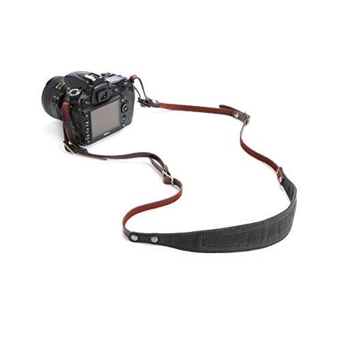 ONA - The Lima - Camera Strap - Black Waxed Canvas (ONA5-015BL)